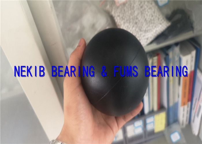 High Density Black Plastic Ball High Hardness And Rigidity For Lake 100mm