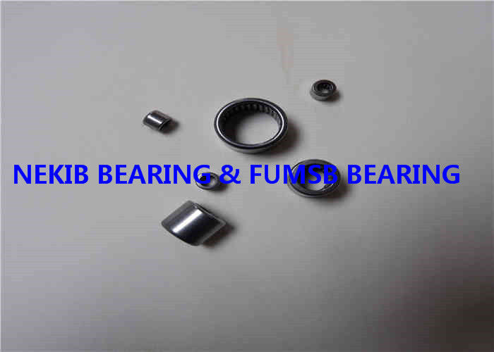 Stainless Steel Drawn Cup Bearing , Needle Roller Bearing With Seal Ring / HK RS / 2RS / BK RS